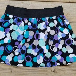 Heart Soul polka dot mini skirt size large